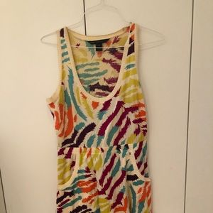 Marc Jacobs colorful tank dress with pockets!